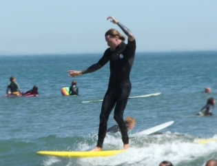 Orange County Surf Therapy Instructor